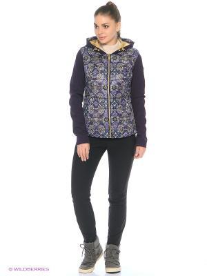 Куртка Stayer. Цвет: фиолетовый, бежевый, золотистый, белый, голубой, светло-голубой, светло-серый