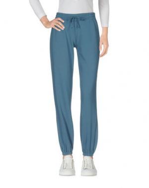 Повседневные брюки TWELVE-T. Цвет: грифельно-синий