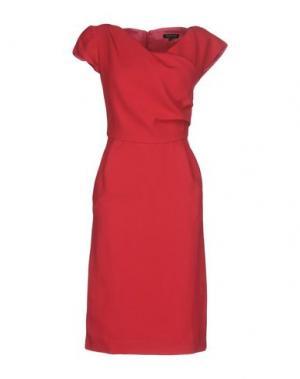Платье до колена TARA JARMON. Цвет: фуксия