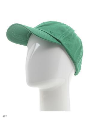 Бейсболка Colin's. Цвет: зеленый