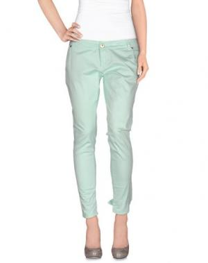 Повседневные брюки QUEEN of LOVE. Цвет: светло-зеленый