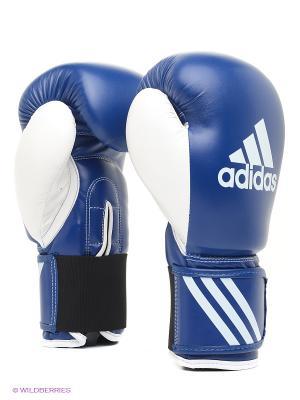 Перчатки боксерские Response Adidas. Цвет: синий