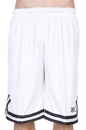 Шорты  Hardwood Double X Shorts White/Anthracite K1X. Цвет: белый