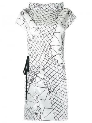 Printed dress Uma   Raquel Davidowicz. Цвет: белый