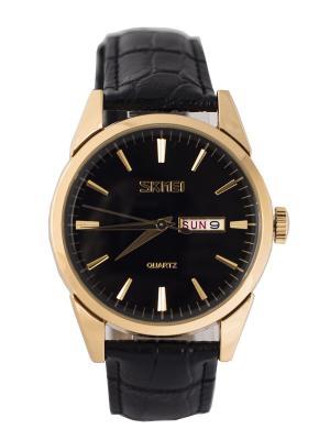 Часы SKMEI. Цвет: черный, золотистый