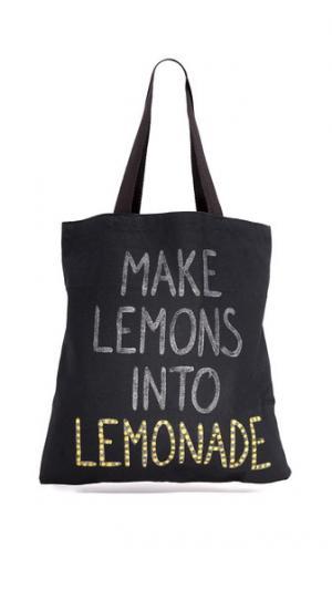 Объемная сумка с короткими ручками Lemonade Zhuu