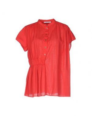 Pубашка OBLIQUE CREATIONS. Цвет: красный