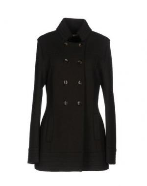 Легкое пальто ROSSO35. Цвет: темно-коричневый