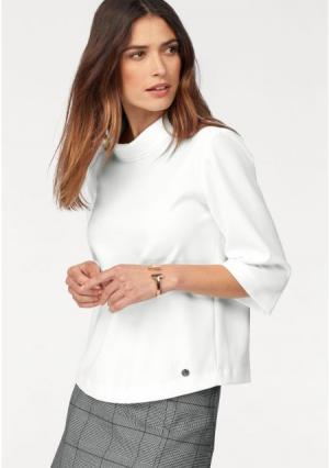 Блузка BRUNO BANANI. Цвет: цвет белой шерсти