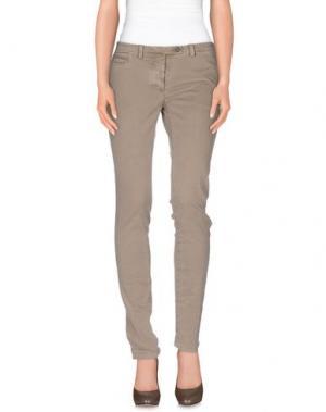 Повседневные брюки PIATTO. Цвет: бежевый