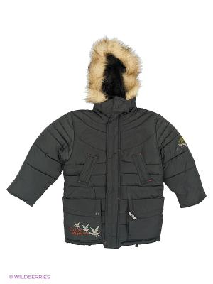 Куртка для мальчика Охотник Пралеска. Цвет: хаки