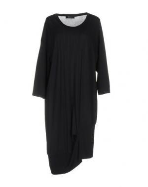 Платье до колена ZUCCA. Цвет: темно-синий