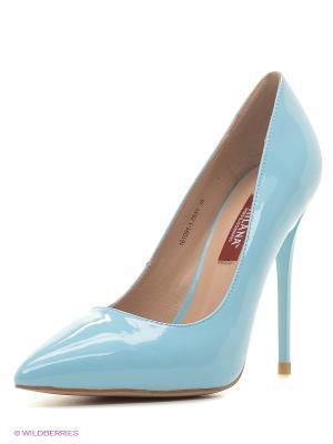 Туфли MILANA. Цвет: голубой