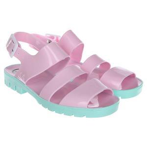 Сандалии женские  Two Tone Glitter Colours Baby Lilac JuJu. Цвет: розовый,голубой