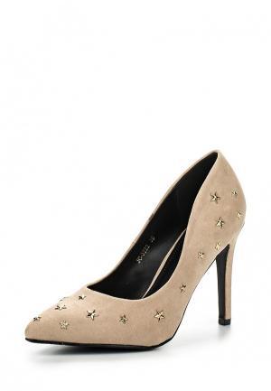 Туфли Ideal Shoes. Цвет: бежевый