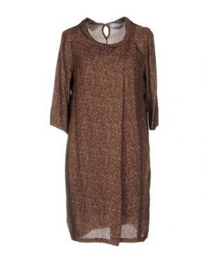 Короткое платье KAOS. Цвет: какао