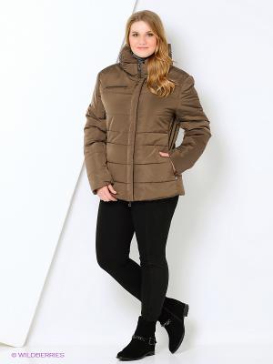 Куртка Mansion. Цвет: коричневый