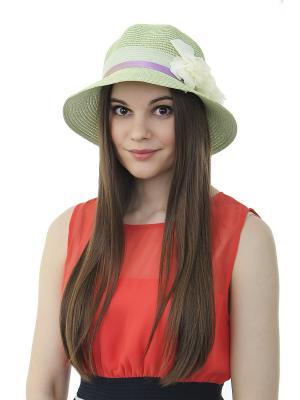 Шляпа Gusachi. Цвет: зеленый, белый, голубой, желтый, фиолетовый