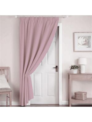 Портьера Amore Mio Вельвет 200*270 см - 1 шт Розовый. Цвет: розовый