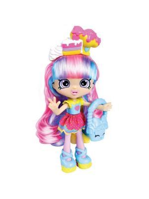 Кукла Shopkins Радужная Кэти с аксессуарами Moose. Цвет: розовый