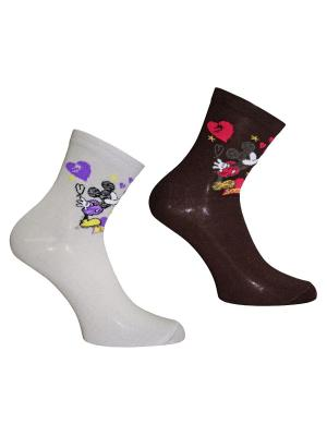 Носки 2 пары Master Socks. Цвет: темно-синий, светло-серый