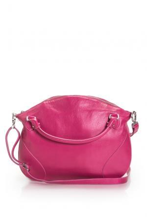 Сумка с ремнем 158002 Gretchen. Цвет: розовый