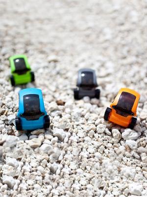 Игрушка Микро-робот Танкбот DESKPETS. Цвет: оранжевый
