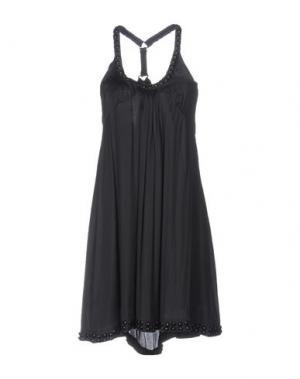 Короткое платье RA-RE. Цвет: стальной серый