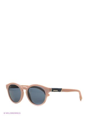Солнцезащитные очки DL 0115 72V Diesel. Цвет: розовый