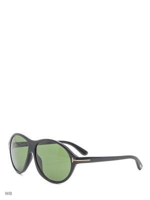 Солнцезащитные очки FT 0398 01N Tom Ford. Цвет: черный