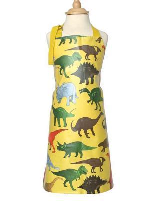 Фартук детский Динозавры Dexam. Цвет: желтый, зеленый