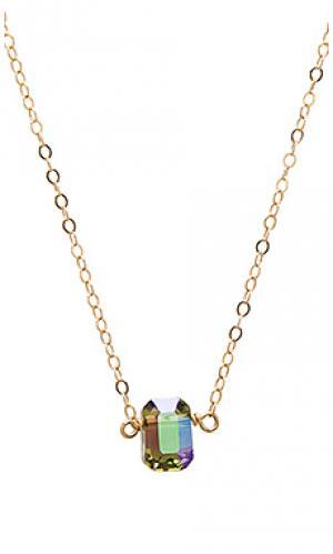Ожерелье harlow Mimi & Lu. Цвет: металлический золотой