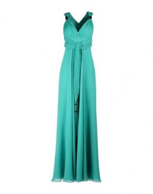 Платье до колена ALLURE. Цвет: кислотно-зеленый