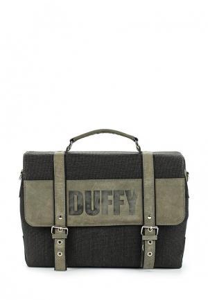 Портфель Duffy. Цвет: хаки