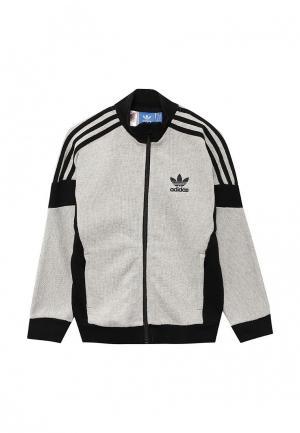 Олимпийка adidas Originals. Цвет: серый