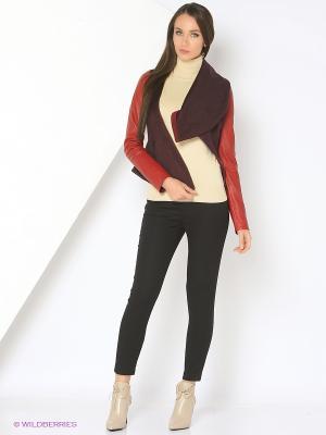 Куртка из кашемира SUSSEX. Цвет: бордовый