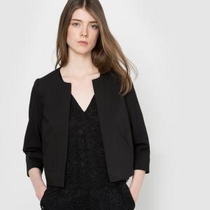 Жакет костюмный MADEMOISELLE R. Цвет: слоновая кость,черный