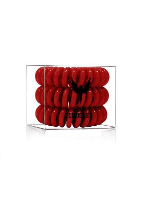 Резинка для волос Hair Cuddles HH Simonsen темно-красная (3 шт.) НОВИНКА!. Цвет: темно-красный