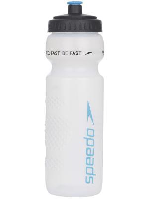 Бутылка для воды Speedo. Цвет: голубой