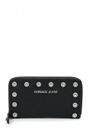 Кошелек Versace Jeans. Цвет: черный