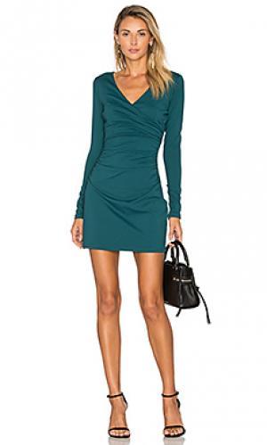 16 платье devon Susana Monaco. Цвет: зеленый