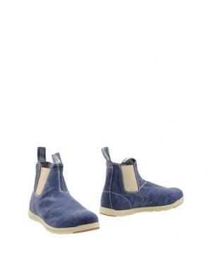 Полусапоги и высокие ботинки BLUNDSTONE. Цвет: синий