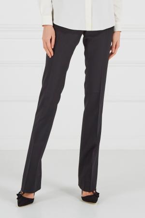 Черные брюки Gucci. Цвет: черный