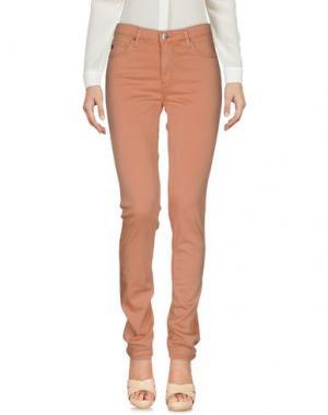 Повседневные брюки AG ADRIANO GOLDSCHMIED. Цвет: лососево-розовый