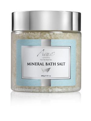 Соль Мертвого моря кристаллическая натуральная 600 гр AQUA MINERAL. Цвет: бежевый