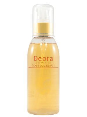Тоник очищающий для лица и области декольте с экстрактом пассифлоры маслом макадамии, 150 мл. Deora Cosmetics. Цвет: бежевый