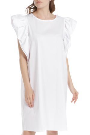 Платье HANNY DEEP. Цвет: белый