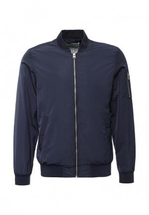 Куртка Springfield. Цвет: синий