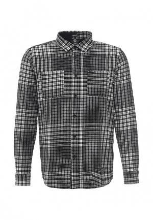 Рубашка Volcom. Цвет: черно-белый