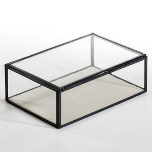 Коробка-витрина Дл30 x Гл20 см, Misia AM.PM.. Цвет: металл,черный